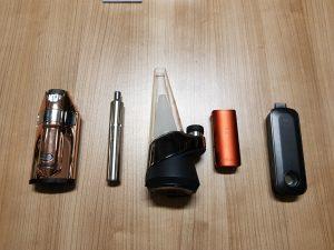 Različni vaporizerji