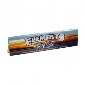 Papirčki za zvijanje s filtri znamke Elements - ultra thin