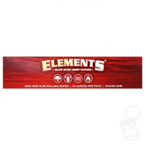 Elements Red King size rizle s filtri za zvijanje