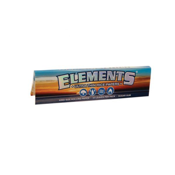 papirčki Elements King Size