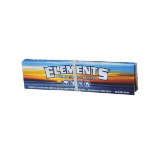 papirčki ELEMENTS CONNOISSEUR King Size Slim + Filters