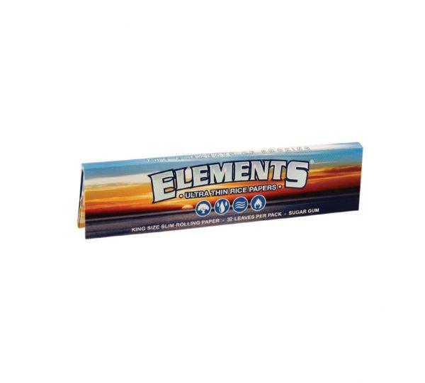 papirčki Elements King Size Slim