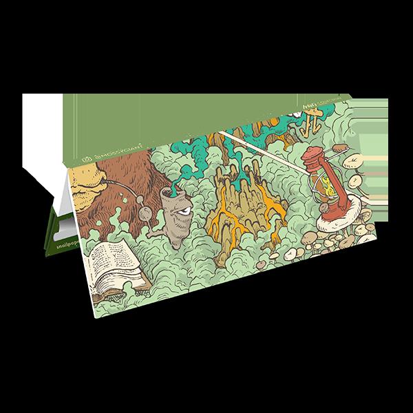 papirčki za zvijanje Snail Mossy Giant BEAR