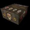 Škatla papirčkov za zvijanje s filtri Snail Calavera unbleached