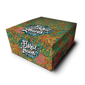 papirčki za zvijanje Snail Floral Leaves (Škatla)
