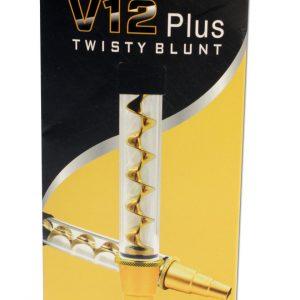 Blunt V12 Plus Twisty Quartz