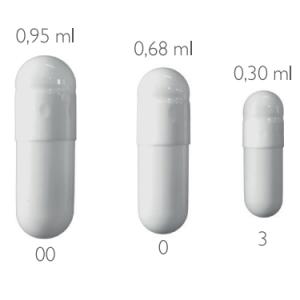 želatinske kapsule prazne 0 (100 kos)