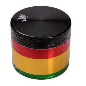 grinder Rasta (Black Leaf) 4 delni Medium