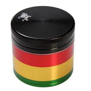 grinder Rasta (Black Leaf) 4 delni